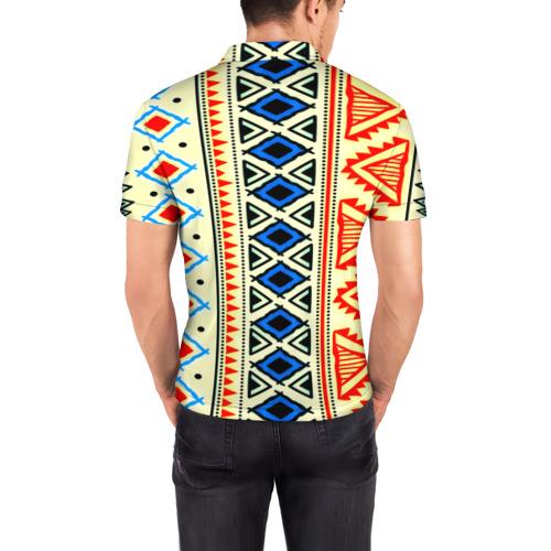 Мужская рубашка поло 3D  Фото 04, Африка