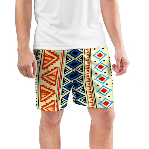 Мужские шорты 3D спортивные  Фото 03, Африка