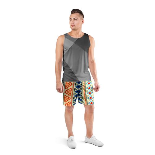 Мужские шорты 3D спортивные  Фото 04, Африка