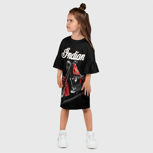Детское платье 3D  Фото 03, Indian 2