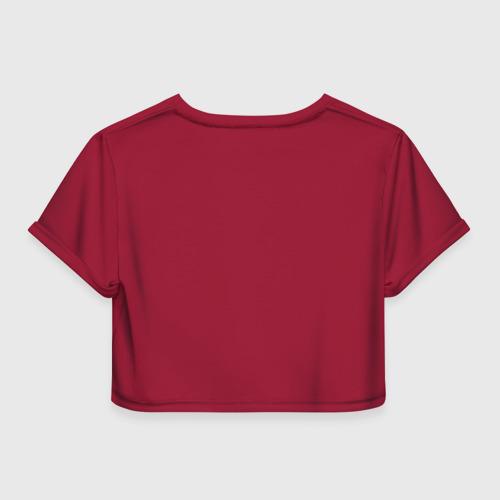 Женская футболка 3D укороченная  Фото 02, Indian 3