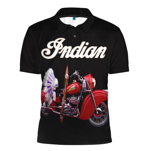 Мужская рубашка поло 3D  Фото 01, Indian 5