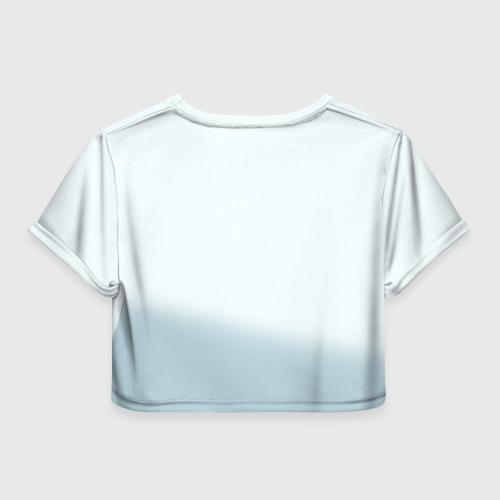 Женская футболка 3D укороченная  Фото 02, Indian 7