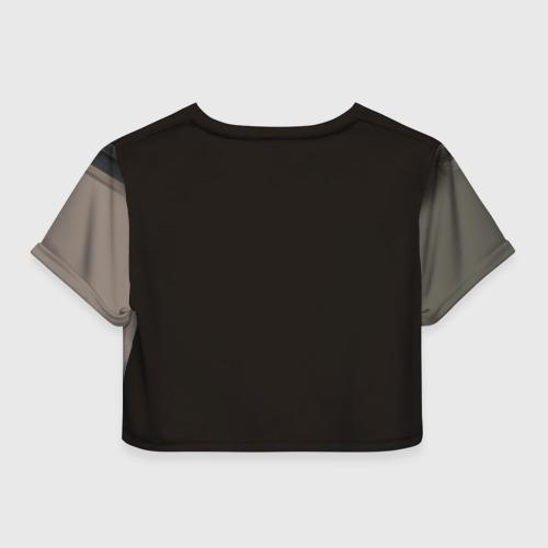 Женская футболка 3D укороченная  Фото 02, Indian 8