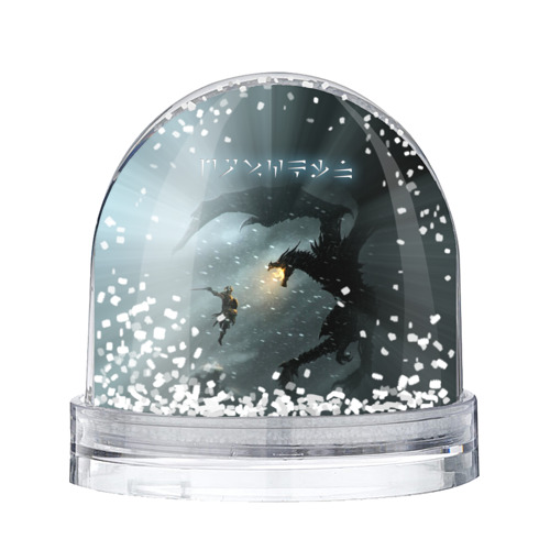 Водяной шар со снегом  Фото 01, Skyrim