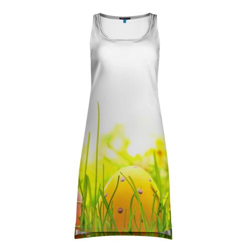 Платье-майка 3D  Фото 01, Пасхальные яйца