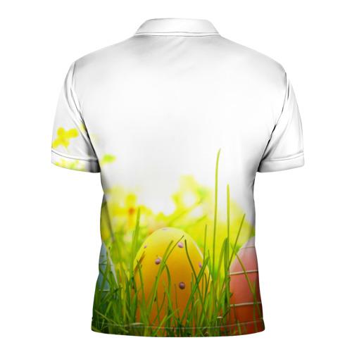Мужская рубашка поло 3D  Фото 02, Пасхальные яйца