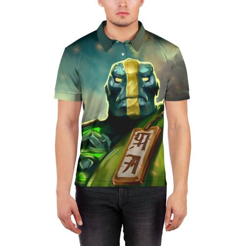 Мужская рубашка поло 3D  Фото 03, Earth Spirit