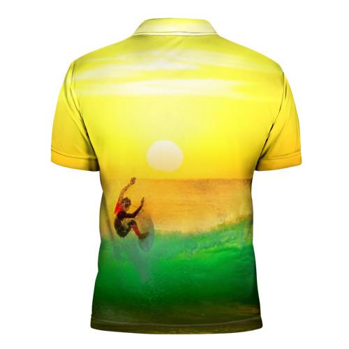 Мужская рубашка поло 3D  Фото 02, Серфинг
