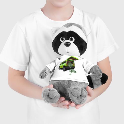 Енотик в футболке 3D  Фото 04, HUMMER H2