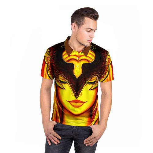 Мужская рубашка поло 3D  Фото 05, Phoenix