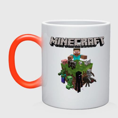 Кружка хамелеон  Фото 01, Minecraft