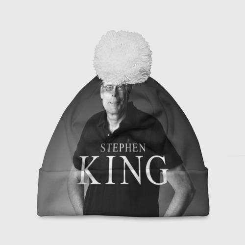 Шапка 3D c помпоном  Фото 01, Стивен Кинг - Король ужасов