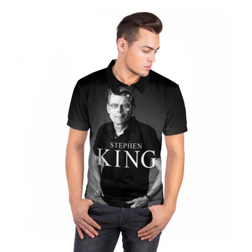 Мужская рубашка поло 3D  Фото 05, Стивен Кинг - Король ужасов