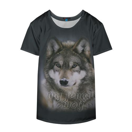 Накидка на куртку 3D  Фото 04, Моя волчица