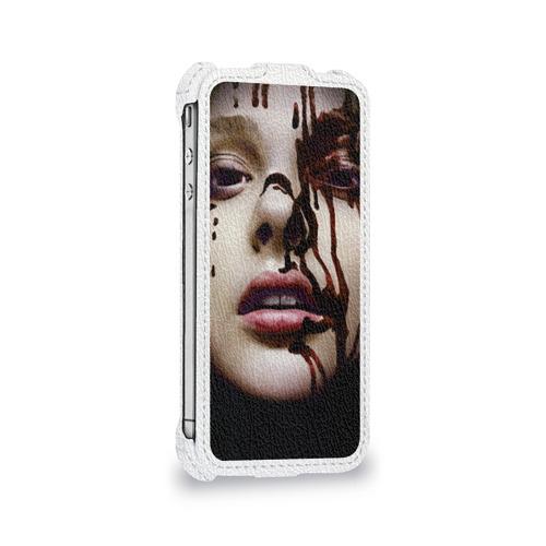 Чехол для Apple iPhone 4/4S flip  Фото 05, Стивен Кинг - Король ужасов