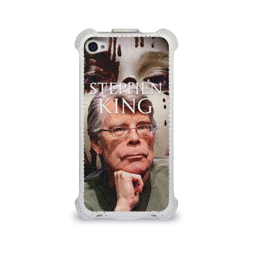 Чехол для Apple iPhone 4/4S flip  Фото 01, Стивен Кинг - Король ужасов