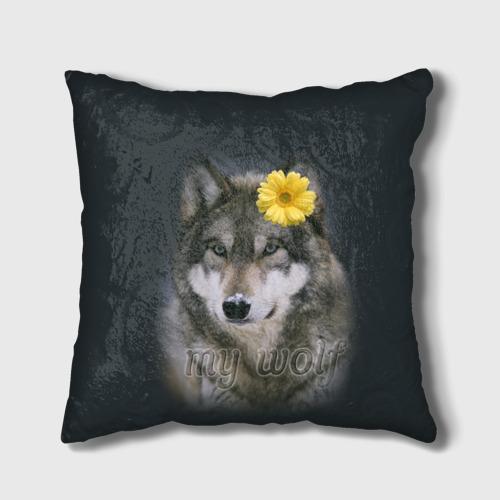 Подушка 3D  Фото 01, Мой волк