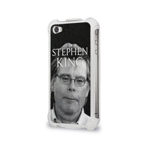 Чехол для Apple iPhone 4/4S flip  Фото 03, Стивен Кинг - Король ужасов