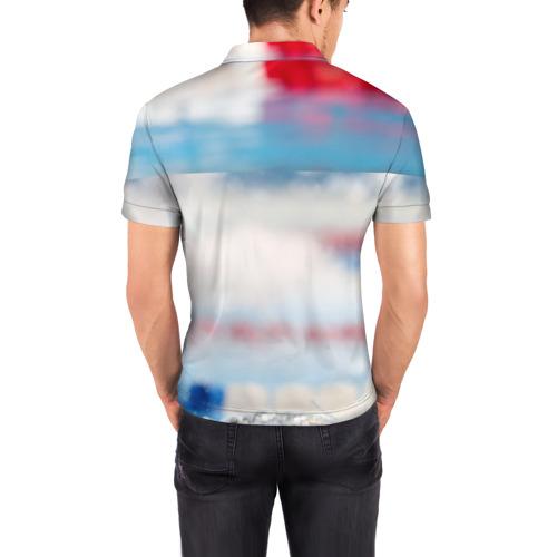 Мужская рубашка поло 3D  Фото 04, Майкл Фелпс