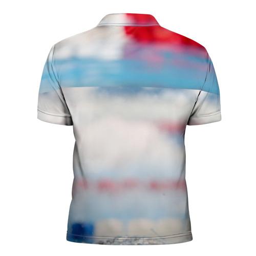 Мужская рубашка поло 3D  Фото 02, Майкл Фелпс
