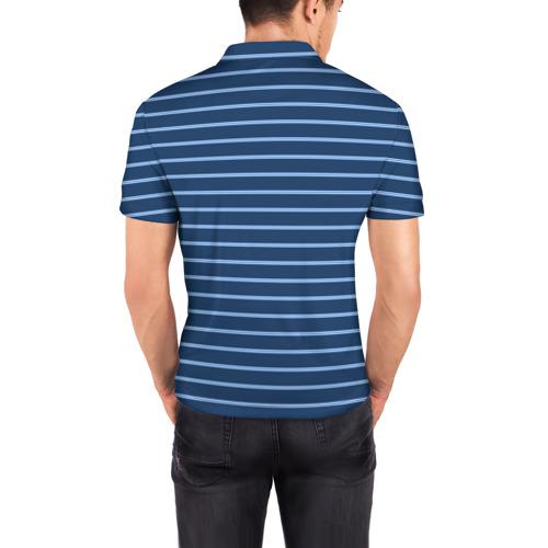 Мужская рубашка поло 3D  Фото 04, Полосы