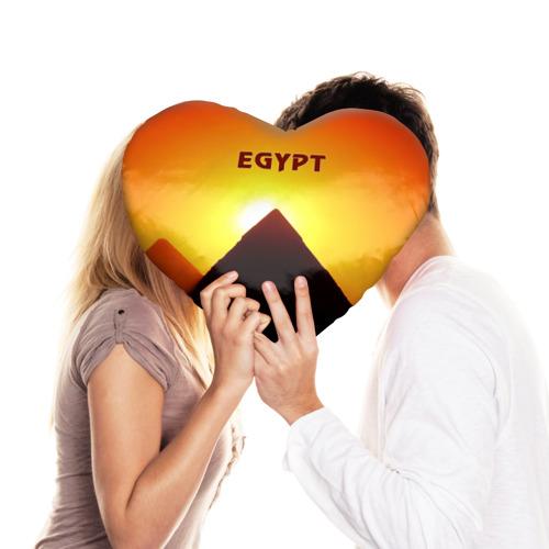Подушка 3D сердце  Фото 03, Egypt