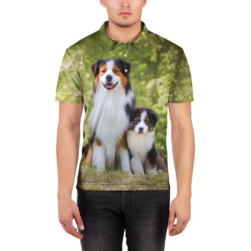 Мужская рубашка поло 3D  Фото 03, Семья