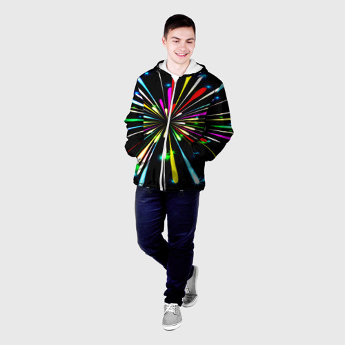 Мужская куртка 3D  Фото 03, Фейерверк