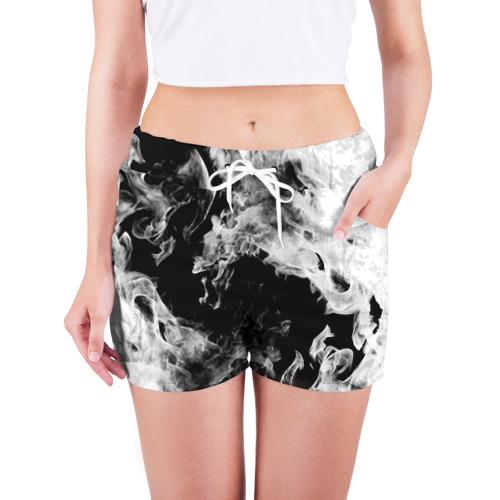 Женские шорты 3D Дым Фото 01
