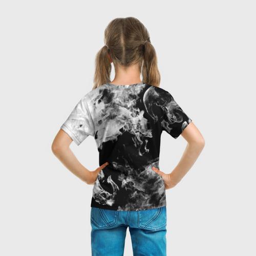 Детская футболка 3D Дым Фото 01