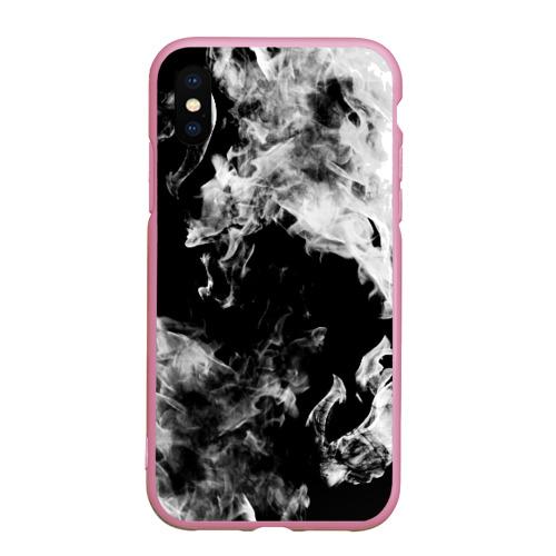 Чехол для iPhone XS Max матовый Дым Фото 01