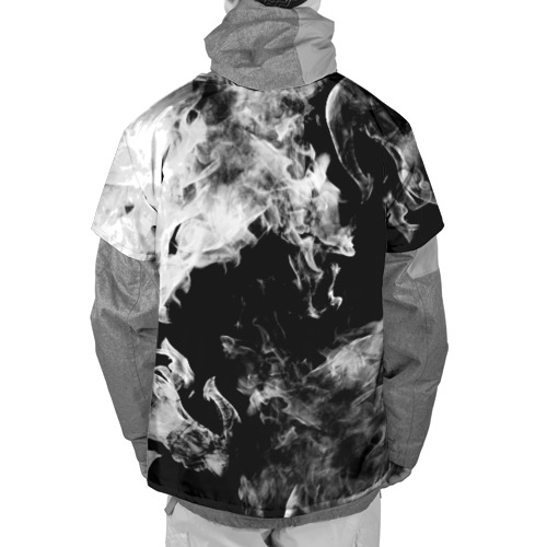 Накидка на куртку 3D Дым Фото 01