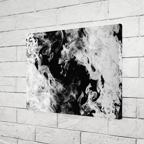 Холст прямоугольный Дым Фото 01