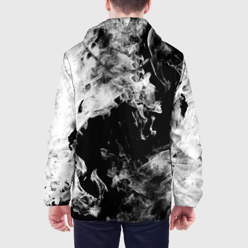 Мужская куртка 3D Дым Фото 01