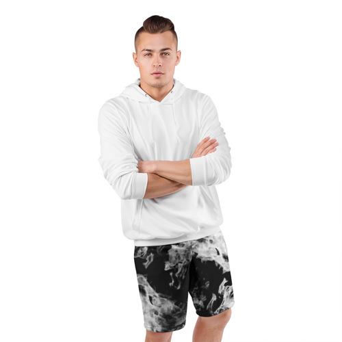 Мужские шорты спортивные Дым Фото 01