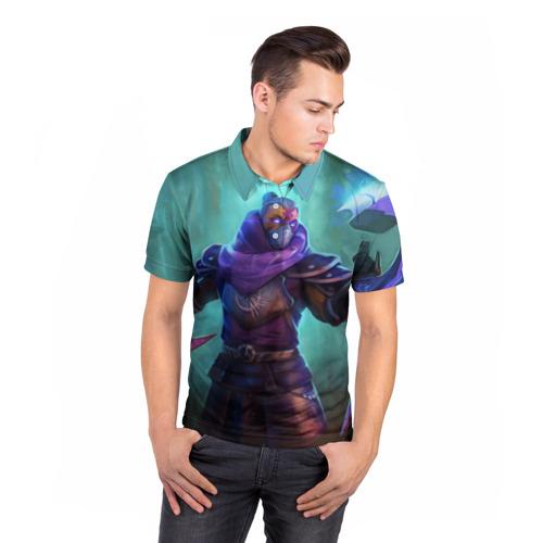 Мужская рубашка поло 3D  Фото 05, Might