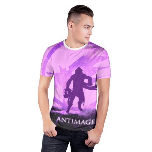 Мужская футболка 3D спортивная  Фото 03, Antimage