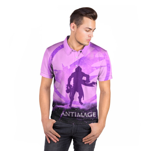 Мужская рубашка поло 3D  Фото 05, Antimage