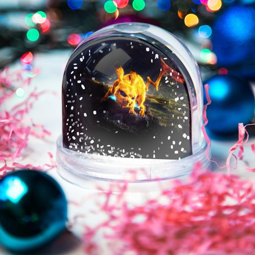 Водяной шар со снегом  Фото 03, Пикачу
