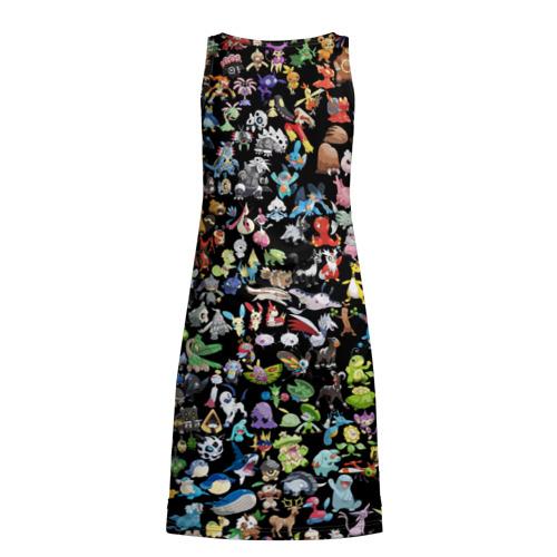 Платье-майка 3D  Фото 02, Покемоны