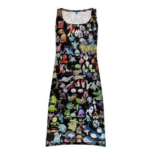 Платье-майка 3D  Фото 01, Покемоны
