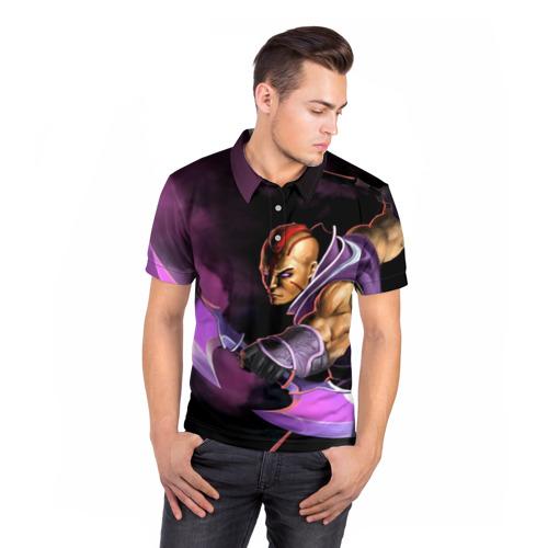 Мужская рубашка поло 3D  Фото 05, Anti-Mage