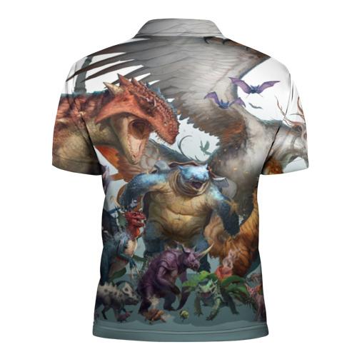 Мужская рубашка поло 3D  Фото 02, Покемоны