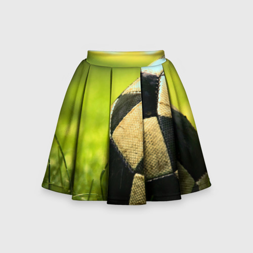 Детская юбка-солнце 3D Футбол