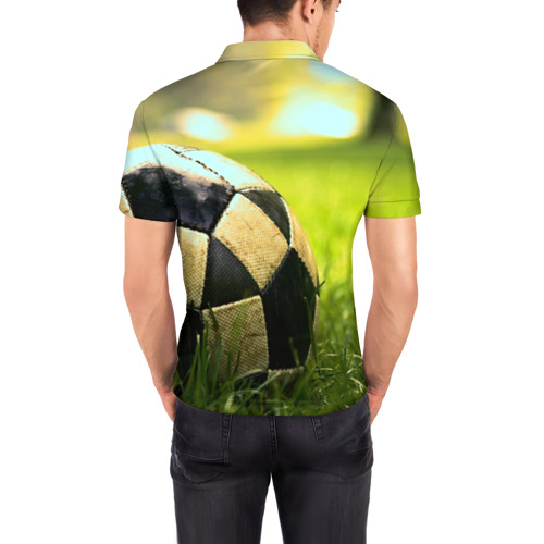 Мужская рубашка поло 3D  Фото 04, Футбол