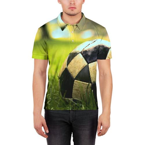 Мужская рубашка поло 3D  Фото 03, Футбол
