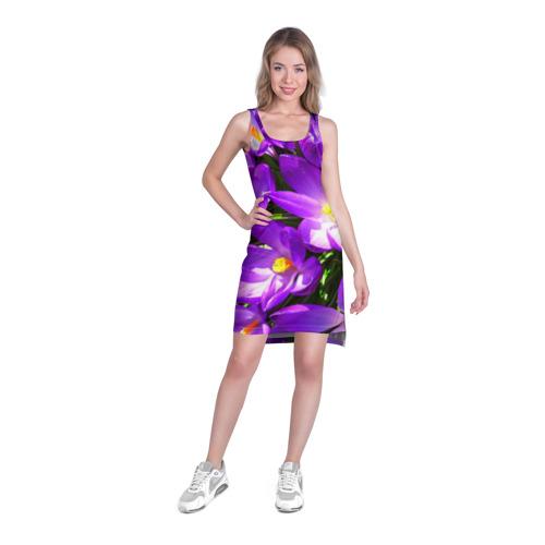Платье-майка 3D  Фото 03, Сиреневая прелесть