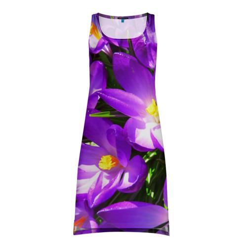 Платье-майка 3D  Фото 01, Сиреневая прелесть