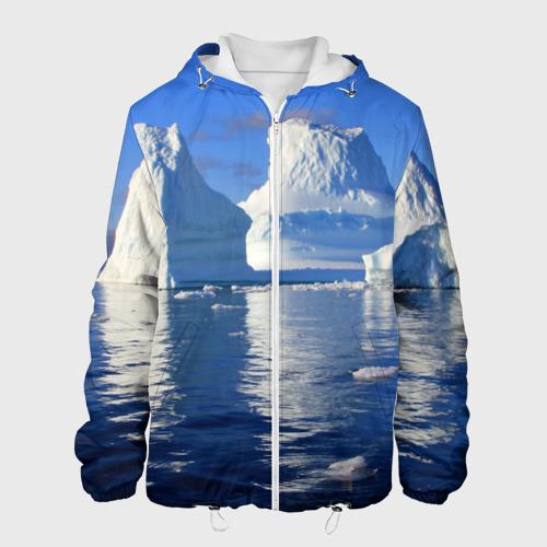 Мужская куртка 3D  Фото 01, Айсберг